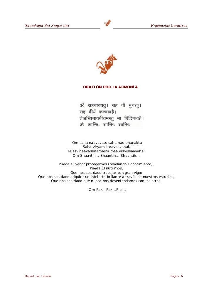 Sanathana Sai Sanjeevini                                           Fragancias Curativas                                CUR...