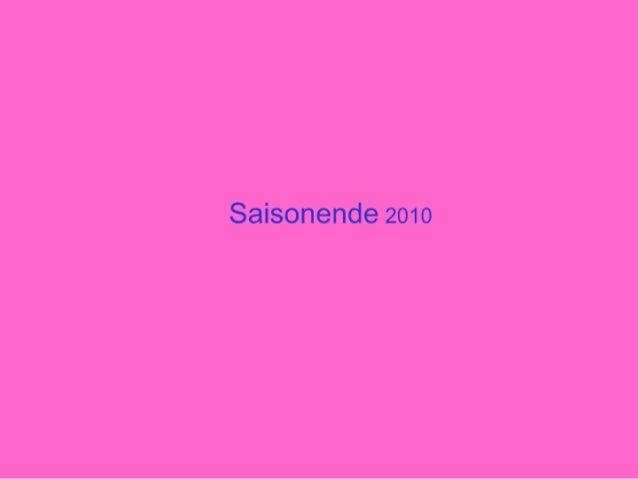 Saisonende 2010