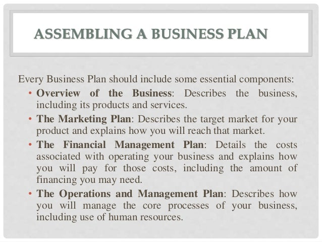 business blueprints include