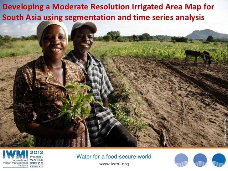 Developing a Moderate Resolution Irrigated Area Map forSouth Asia using segmentation and time series analysis             ...