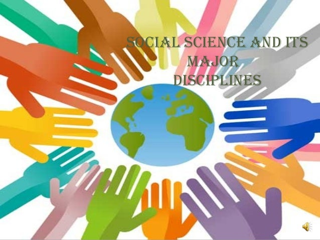 disciplines of social science