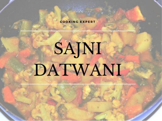 Make cooking an easy task with sajni datwani indian food recipes forumfinder Image collections