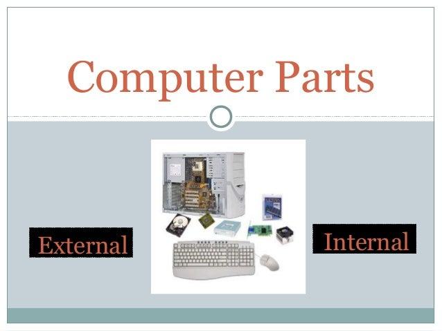 Computer Parts (External and Internal)