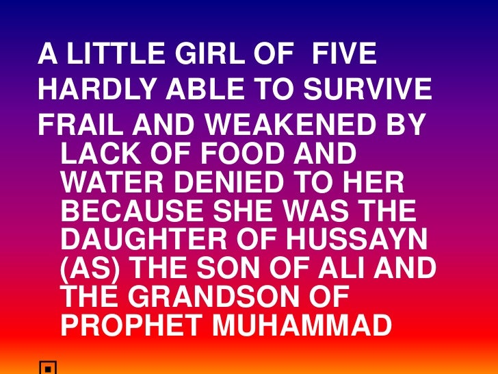 A LITTLE GIRL OF FIVE HARDLY ABLE TO SURVIVE FRAIL AND WEAKENED BY  LACK OF FOOD AND  WATER DENIED TO HER  BECAUSE SHE WAS...
