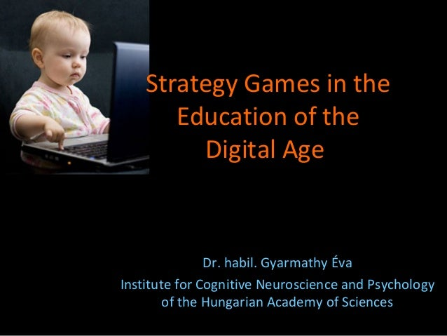 Dr. habil. Gyarmathy Éva Institute for Cognitive Neuroscience and Psychology of the Hungarian Academy of Sciences Strategy...