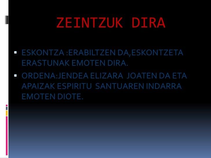 Zerbitzurako Sakramentuak Slide 2