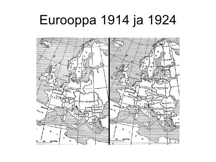Eurooppa 1914 ja 1924
