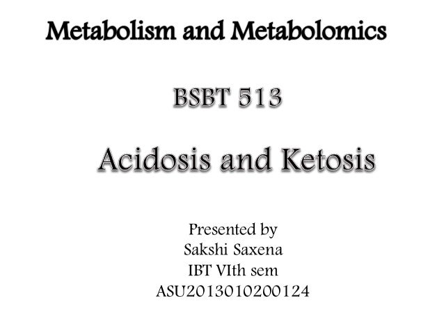 does keto diet cause acidosis