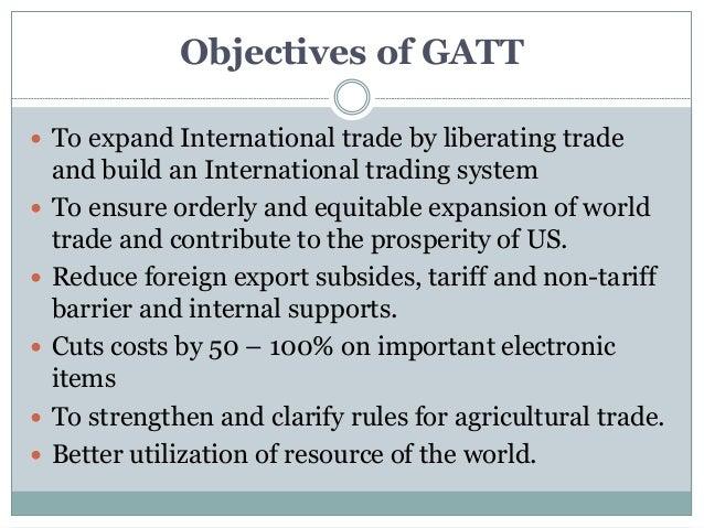 Gatt Trading System