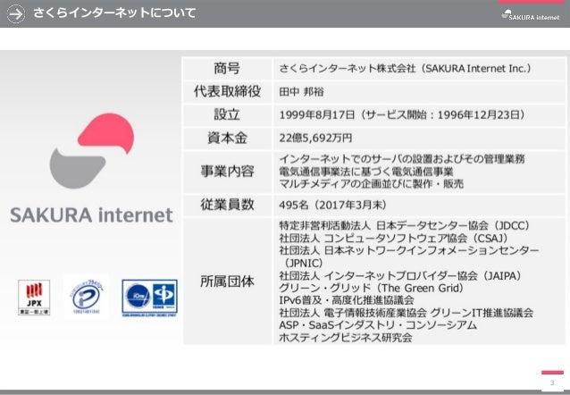 「sakura.io」「さくらのセキュアモバイルコネクト」ご紹介 Slide 3