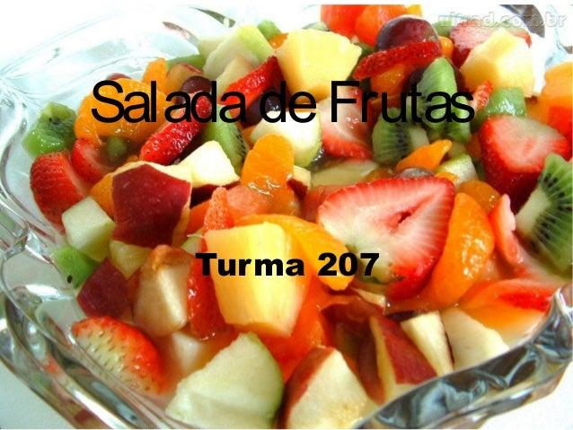 SaladadeFrutasTurma 207