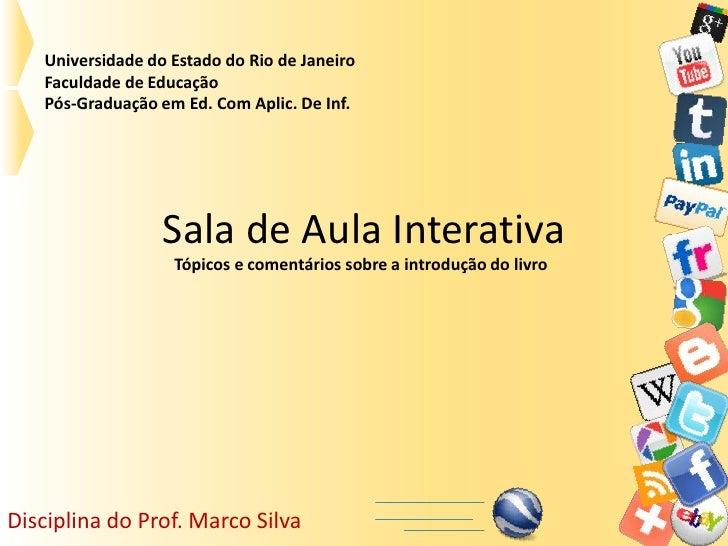 Universidade do Estado do Rio de Janeiro   Faculdade de Educação   Pós-Graduação em Ed. Com Aplic. De Inf.                ...