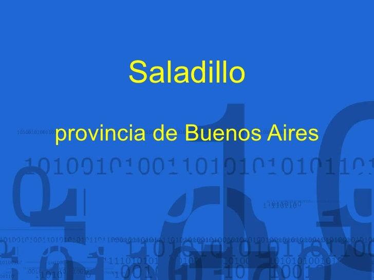 Saladillo provincia de Buenos Aires