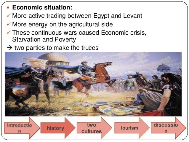  Economic situation: More active trading between Egypt and Levant More energy on the agricultural side These continuou...