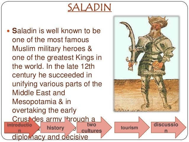 SALADIN Saladin is well known to be one of the most famous Muslim military heroes & one of the greatest Kings in the worl...