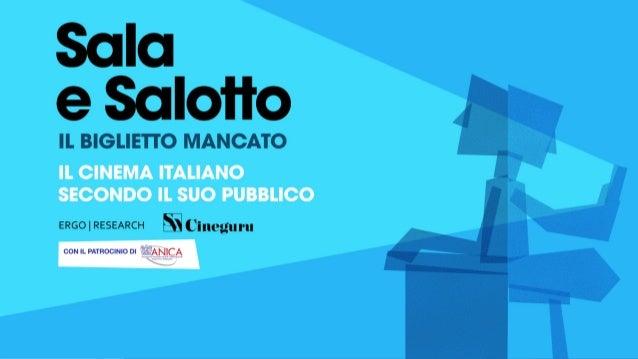 1Con il patrocinio di 23 MARZO – CASA DEL CINEMA, ROMA SALA E SALOTTO