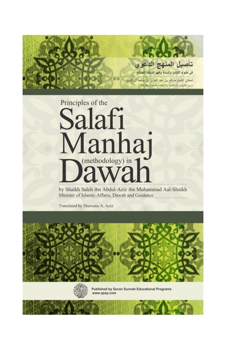 Why I Am A Salafi Radio Frequency Circuit Design W Alan Davis Inbunden Array Principles Of The Manhaj In Dawah Rh Slideshare Net