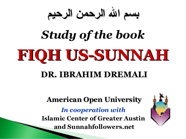 American Open UniversityAmerican Open University In cooperation with Islamic Center of Greater Austin and Sunnahfollowers....