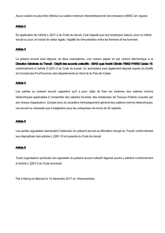Idcc 1702 Salaires 2018
