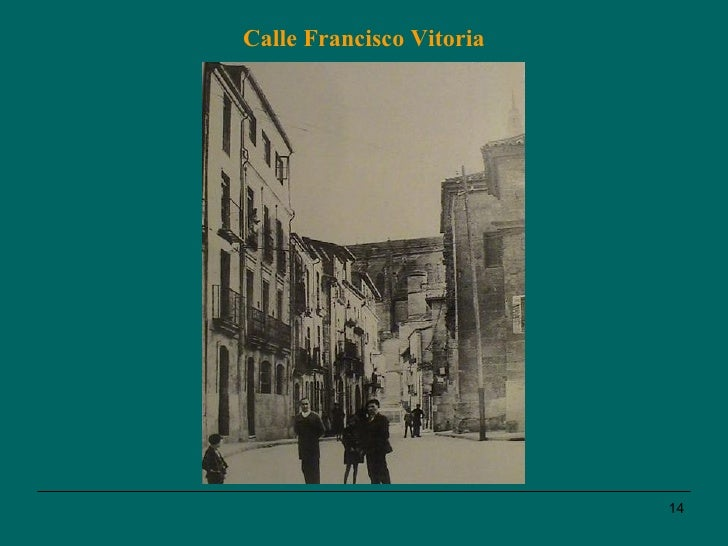 Calle Francisco Vitoria