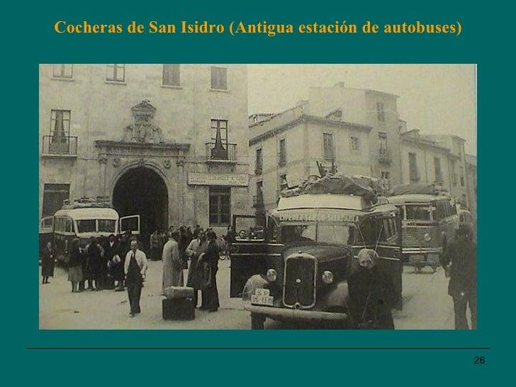 Cocheras de San Isidro (Antigua estación de autobuses)