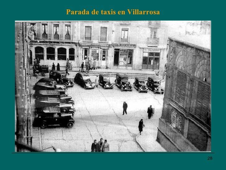 Parada de taxis en Villarrosa