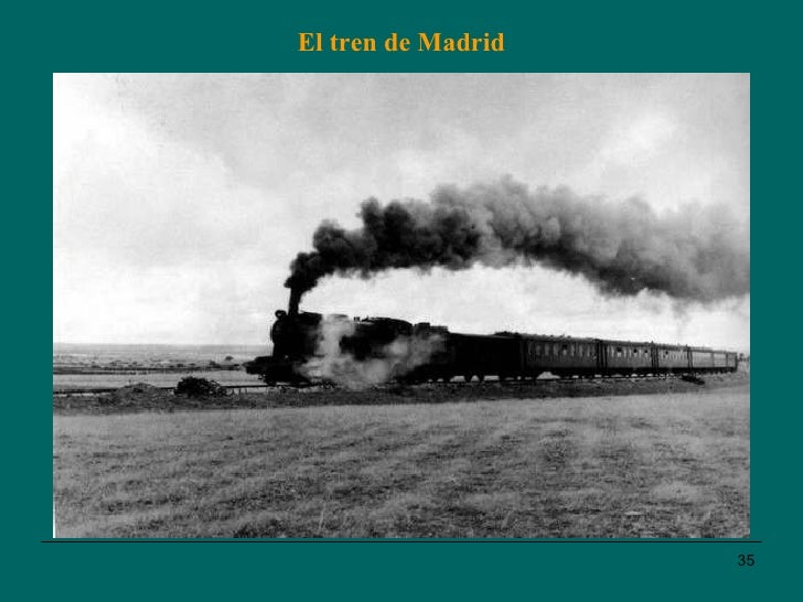 El tren de Madrid