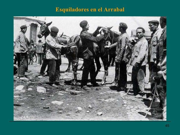 Esquiladores en el Arrabal
