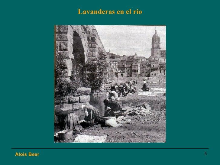 Lavanderas en el río Alois Beer