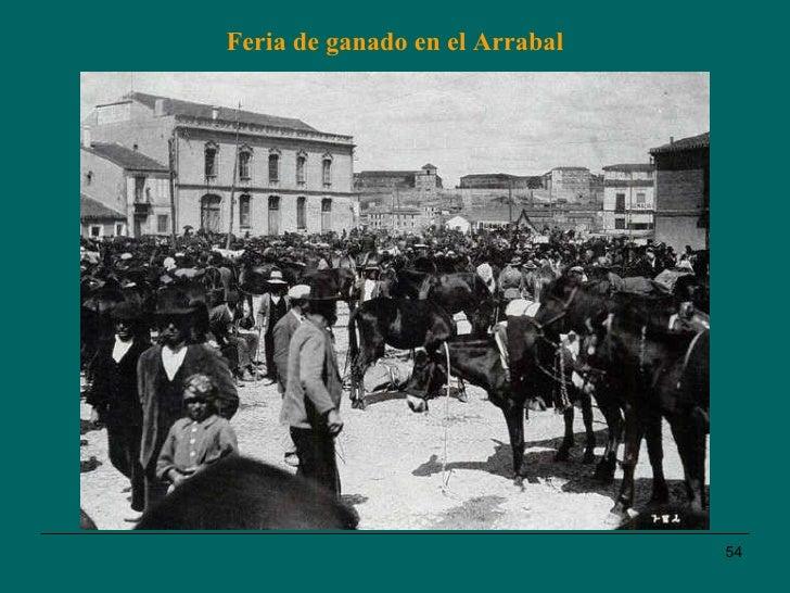 Feria de ganado en el Arrabal