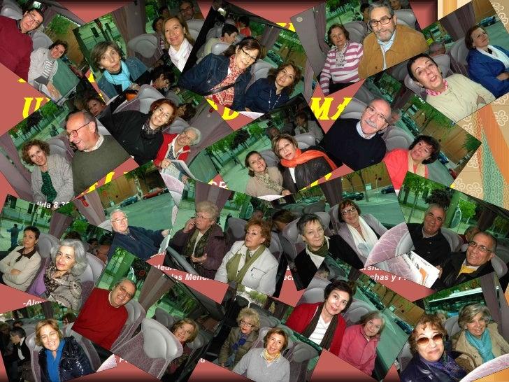 Visita A SALAMANCA Alumnos 2º Curso Universidad de Mayores Rey Juan Carlos de Vicalvaro .-URJC   (7 mayo 2010) PROGRAMA : ...