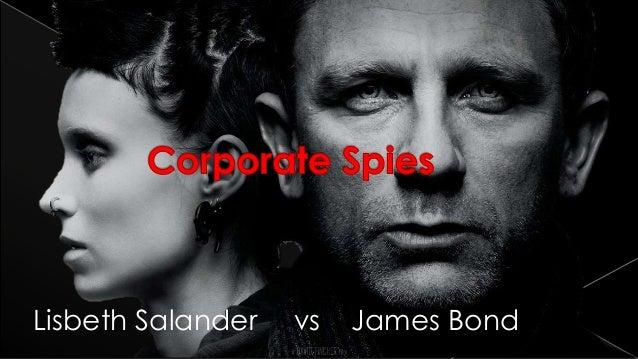 Lisbeth Salander vs James Bond