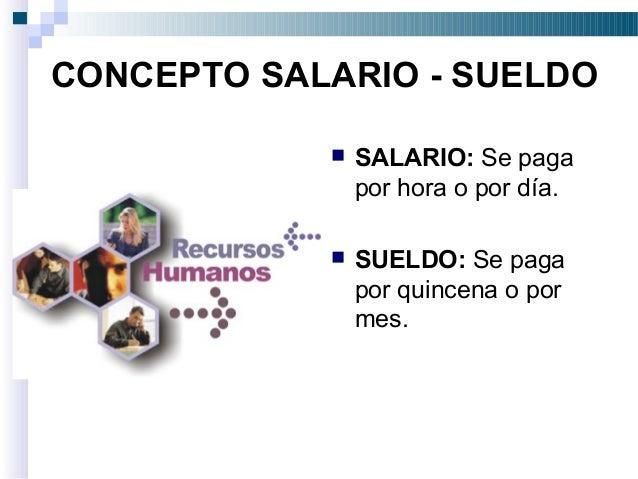 Salario concepto e importancia for Concepto de oficina y su importancia