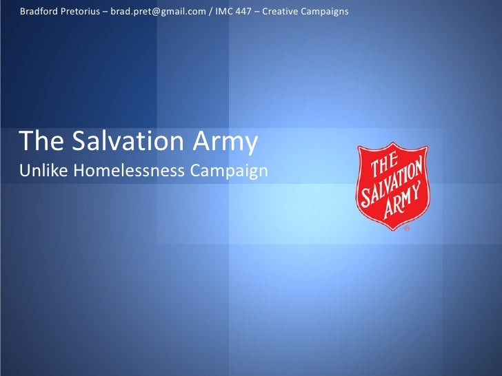 Salvation Army Campaign