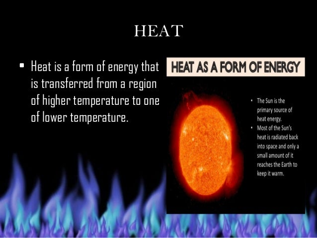 Transmission of Heat Energy.