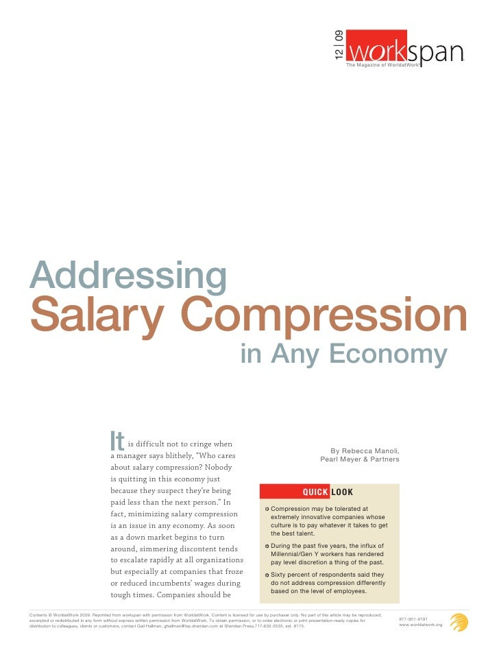 Salary compression 1