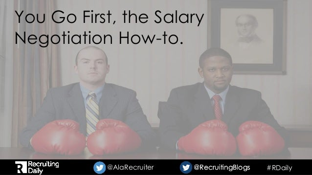 how to negotiate first salary offer