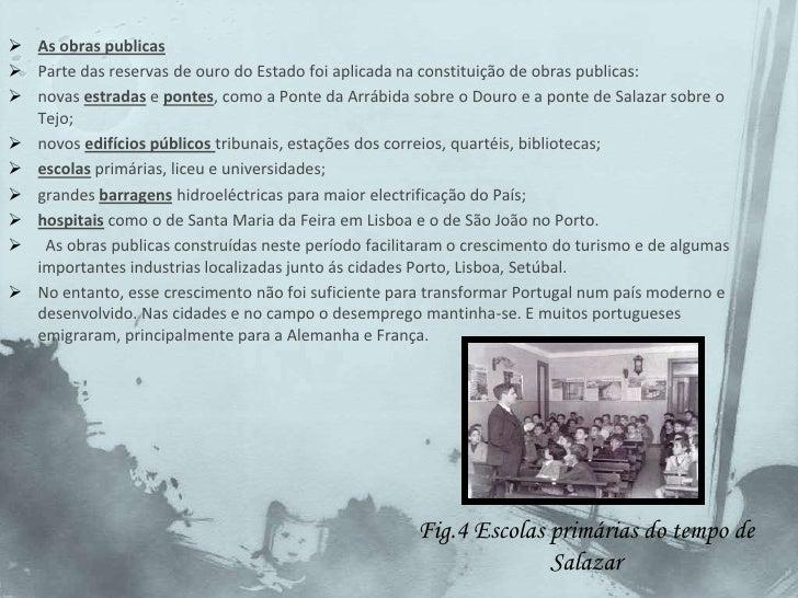 Sob a sua orientação fez-se uma nova Constituição a Constituição de 1933, a qual foi posta á aprovação dos Portugueses atr...
