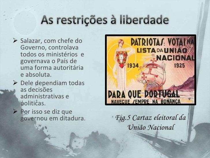 A partir de 1933 instaurou-se em Portugal um novo regime a que se deu o nome de Estado Novo e que durou 40 anos(1933-1974).