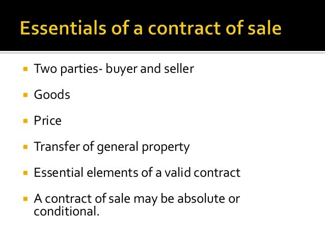 sale and agreement to sell pdf