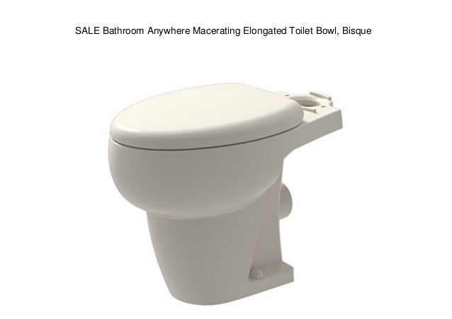 Fabulous Sale Bathroom Anywhere Macerating Elongated Toilet Bowl Bisque Unemploymentrelief Wooden Chair Designs For Living Room Unemploymentrelieforg