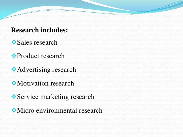 marketing research concept and applications It is a very narrow concept 'marketing' research is  this explanation is far more straightforward ie marketing research into the elements of the marketing.