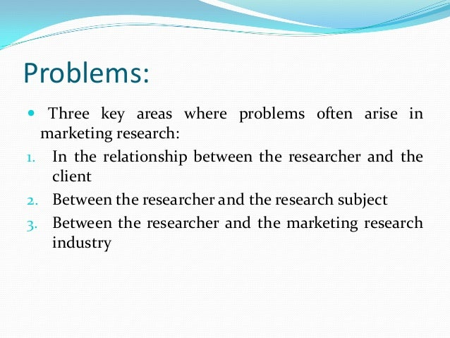 Relationship Between Research and Business Decisions