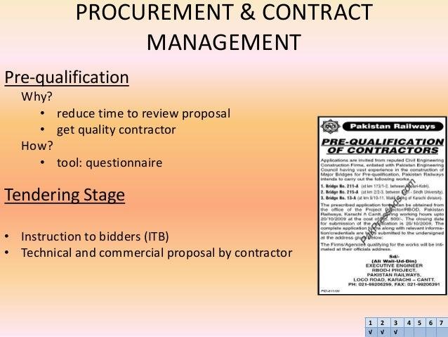 procurement and contract management pdf