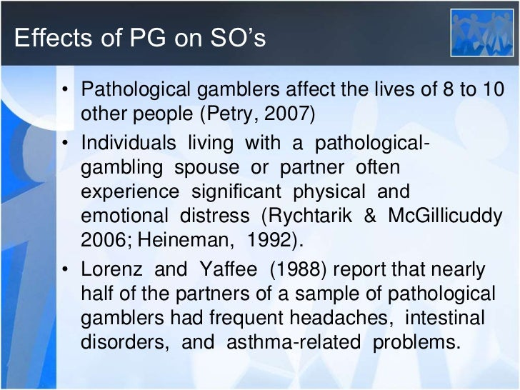 Image result for effects of gambling images