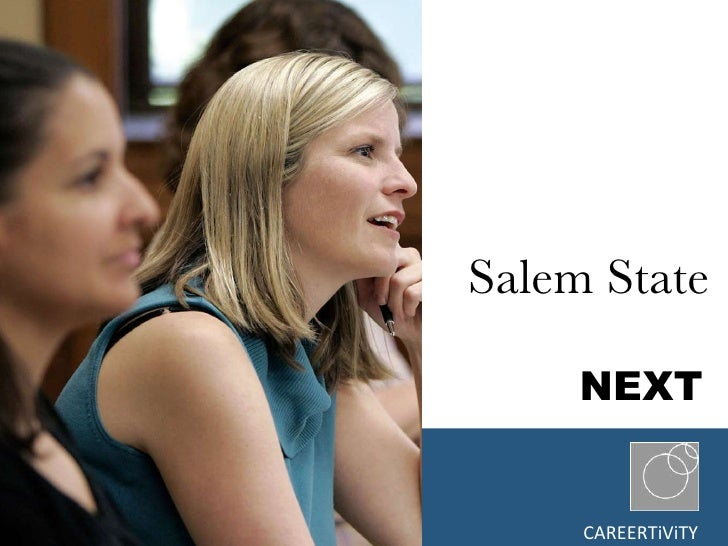 Salem State     NEXT } CAREERTiViTY