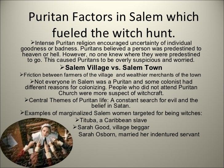 puritan life essay