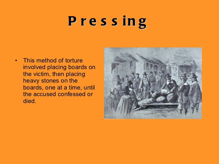Pressing Witches