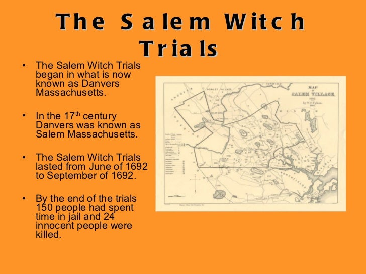 term paper on salem witch trials Literature term papers (paper 15906) on salem witch trials : many of the american colonists brought with them from europe a belief in witches and the devil.