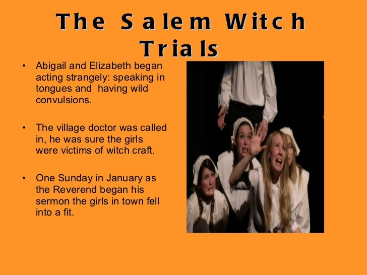 tituba and the salem witch trials Several of the town's teenage girls began to gather in the kitchen with tituba  early  the famous salem witchcraft trials began as the girls began to name  more.